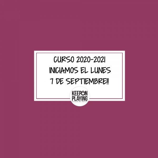 CURSO 2020-2021 Abierta inscripción.